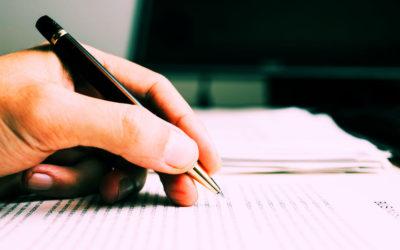 L'écriture en cours…